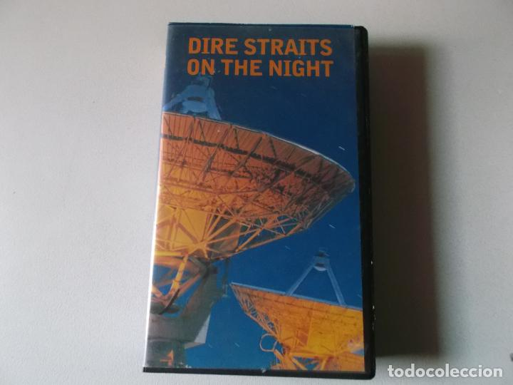 DIRE STRAITS ON THE NIGHT, VHS (Música - Videos y DVD Musicales)