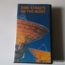 Vídeos y DVD Musicales: DIRE STRAITS ON THE NIGHT, VHS. Lote 187437052