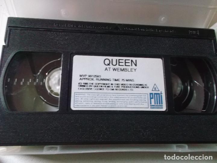 Vídeos y DVD Musicales: QUEEN AT WEMBLEY, 1990, VHS - Foto 3 - 187437205