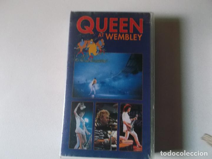 QUEEN AT WEMBLEY, 1990, VHS (Música - Videos y DVD Musicales)