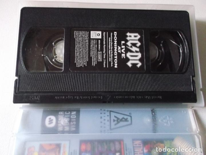 Vídeos y DVD Musicales: AC/DC. Live at Donington (video vhs 1992) - Foto 4 - 187437380