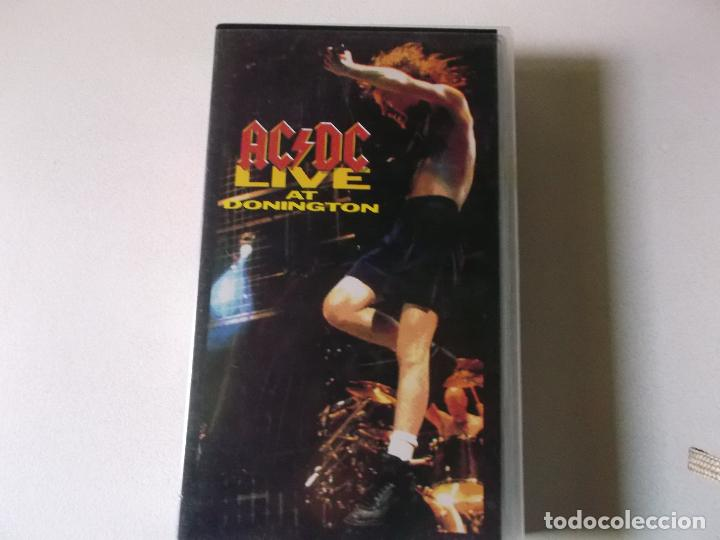AC/DC. LIVE AT DONINGTON (VIDEO VHS 1992) (Música - Videos y DVD Musicales)