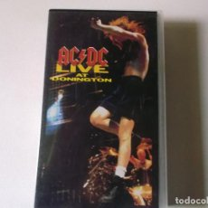 Vídeos y DVD Musicales: AC/DC. LIVE AT DONINGTON (VIDEO VHS 1992). Lote 187437380