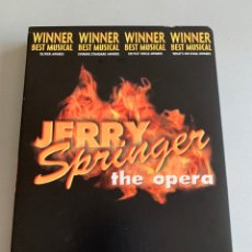 Vídeos y DVD Musicales: DVD. MUSICAL. JERRY SPRINGER. THE OPERA. Lote 187498216