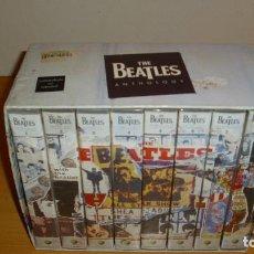 Vídeos y DVD Musicales: ANTIGUA CAJA DE COLECCIÓN THE BEATLES ANTHOLOGY 8 CINTAS VHS 1996. Lote 187541497