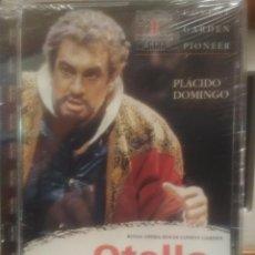 Vídeos y DVD Musicales: DVD PIONEER -MUSIC DRAMA IN FOUR ACTS OTELLO, PLÁCIDO DOMINGO, KIRI TE KANAWA PRECINTADO PEPETO. Lote 188515752