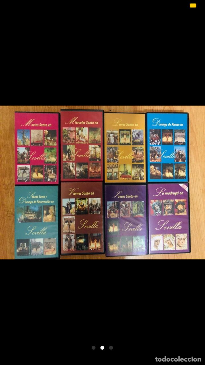 COLECCION VHS SEMANA SANTA DE SEVILLA PRODUCCIONES RUANO (Música - Videos y DVD Musicales)