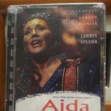 Vídeos y DVD Musicales: AIDA DE VERDI - CHERYL STUDER - COVENT GARDEN PIONEER - 2001- DVD OPERA -PRECINTADO PEPETO. Lote 188763337