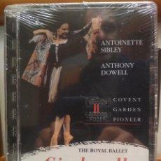 Vídeos y DVD Musicales: DVD THE ROYAL BALLET PIONEER CINDERELLA ANTOINETTE SIBLEY , ANTHONY DOWELL PRECINTADO PEPETO. Lote 188763417