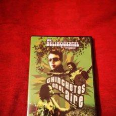 Vídeos y DVD Musicales: LOS DELINQUENTES CHINCHETAS EN EL AIRE DVD NUEVO MIGUE BENÍTEZ CANIJO DE JEREZ. Lote 189385753