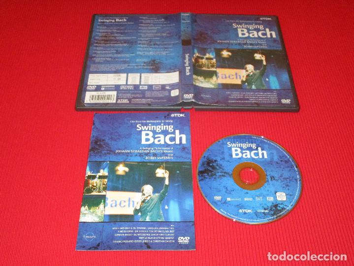SWINGING BACH - DVD - DV-BASBL - TDK - LIVE FROM THE MARKETPLACE IN LEIPZIG (Música - Videos y DVD Musicales)