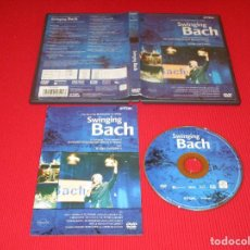 Vídeos y DVD Musicales: SWINGING BACH - DVD - DV-BASBL - TDK - LIVE FROM THE MARKETPLACE IN LEIPZIG. Lote 189551086