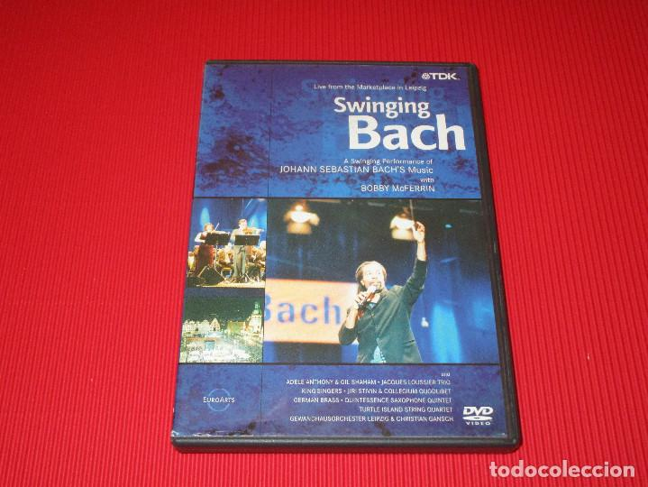 Vídeos y DVD Musicales: SWINGING BACH - DVD - DV-BASBL - TDK - LIVE FROM THE MARKETPLACE IN LEIPZIG - Foto 2 - 189551086
