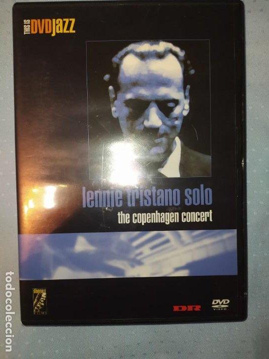 LENNIE TRISTANO SOLO THE COPENHAGEN CONCERT DVD DVDJAZZ (Música - Videos y DVD Musicales)
