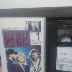 Vídeos y DVD Musicales: BEE GEES. VOL.1 LIVE. VHS. Lote 189746776