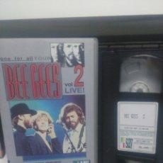 Vídeos y DVD Musicales: BEE GEES. VOL.2 LIVE. VHS. Lote 189746822