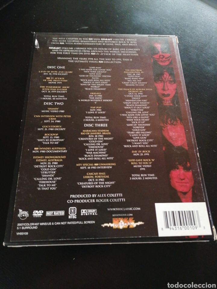 Vídeos y DVD Musicales: Kiss - Kissology Vol. 2 DVD 1978-1991 - Foto 2 - 189821560