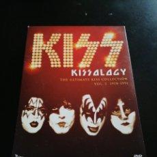 Vídeos y DVD Musicales: KISS - KISSOLOGY VOL. 2 DVD 1978-1991. Lote 189821560
