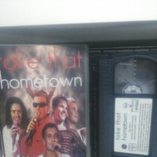 Vídeos y DVD Musicales: TAKE THAT. VHS. Lote 191172341