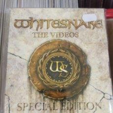 Vídeos e DVD Musicais: DVD WHITESNAKE THE VIDEOS SPECIAL EDITION 1984 - 2009. Lote 191181720