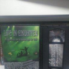Vídeos y DVD Musicales: LIVE IN EINDHOVEN. VHS. Lote 191269641