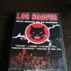 Vídeos e DVD Musicais: LOS SUAVES - ESTA NOCHE NO SE DUERME DVD. Lote 191673036