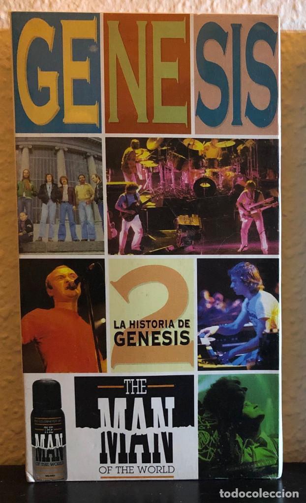 GENESIS, LA HISTORIA. - VHS - (Música - Videos y DVD Musicales)