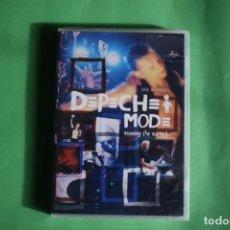 Vídeos y DVD Musicales: DEPECHE MODE-LIVE MILAN NUEVO. Lote 192222881