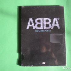 Vídeos y DVD Musicales: ABBA- NUMBER ONES NUEVO. Lote 192223007