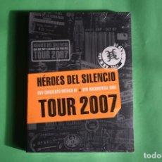 Vídeos y DVD Musicales: HEROES DEL SILENCIO-TOUR 2007 NUEVO. Lote 192223136