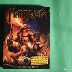 Vídeos y DVD Musicales: MANOWAR-HELL ON EARTH III. Lote 192223272