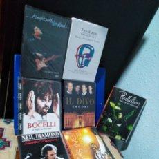 Vídeos y DVD Musicales: LOTE DE 7 DVD MUSICALES ( SOLISTAS Y GRUPOS ). Lote 192508361