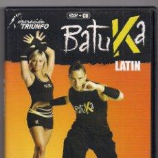 Vídeos y DVD Musicales: BATUKA LATIN - OPERACIÓN TRIUNFO - COMBINA GIMNASIA, BAILE Y DIVERSIÓN DVD + CD. Lote 192770910