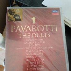 Vídeos y DVD Musicales: PAVAROTTI THE DUETS -DVD CON INVITADOS CERRADO -IMPORTADO. Lote 192803187
