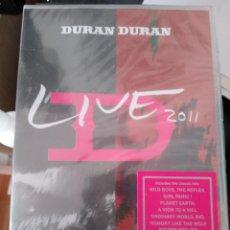 Vídeos y DVD Musicales: DURAN DURAN LIVE 2011-DVD CERRADO DE FABRICA IMPORTADO. Lote 192804823