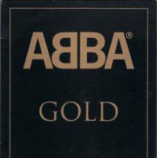 Vídeos y DVD Musicales: ABBA GOLD GREATEST HITS - PACK DESCATALOGADO CON 2CDS (39 CANCIONES) Y 1 DVD (19 CLIPS + DOCUMENTAL). Lote 192907630