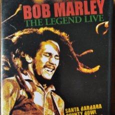 Vidéos y DVD Musicaux: BOB MARLEY, THE LEGEND LIVE- SANTA BARABARA COUNTY BOWL 1979- DVD. Lote 193152725