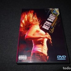 Vídeos y DVD Musicales: BETH HART - LIVE AT PARADISO DVD. Lote 193029125