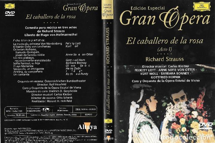 EL CABALLERO DE LA ROSA - RICHARD STRAUSS - EDICIÓN ESPECIAL GRAN ÓPERA (Música - Videos y DVD Musicales)