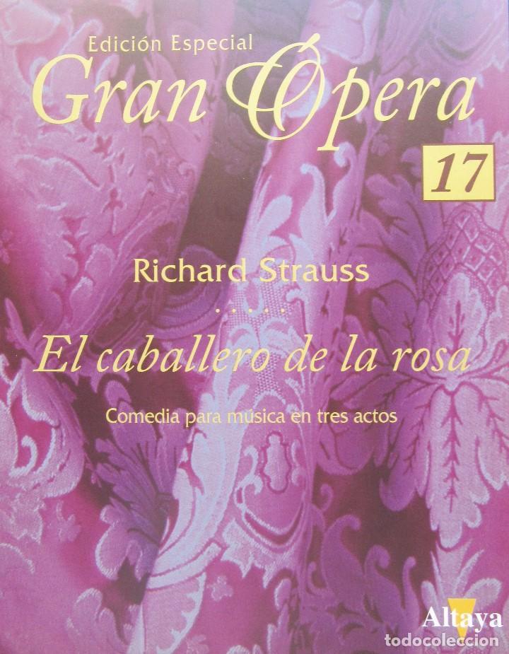 Vídeos y DVD Musicales: EL CABALLERO DE LA ROSA - RICHARD STRAUSS - EDICIÓN ESPECIAL GRAN ÓPERA - Foto 3 - 193306651