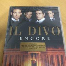 Vídeos y DVD Musicales: IL DIVO. ENCORE. NUEVO PRECINTADO.. Lote 193381762