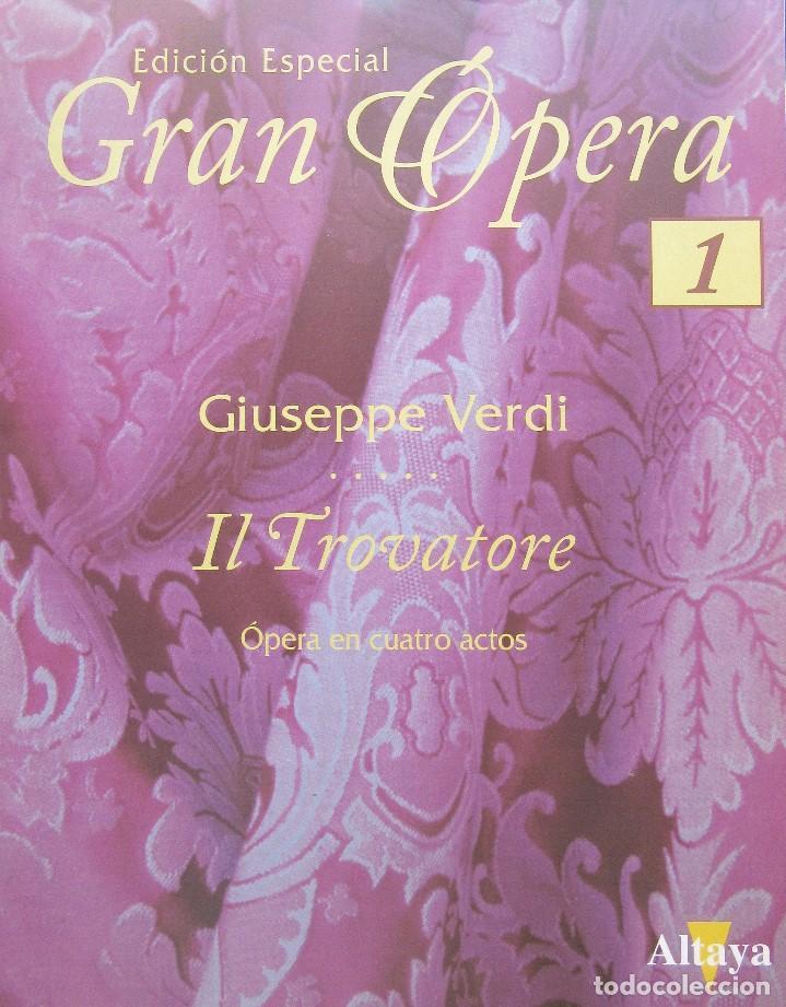 Vídeos y DVD Musicales: IL TROVATORE - GIUSEPPE VERDI - EDICIÓN ESPECIAL GRAN ÓPERA - Foto 2 - 193611193