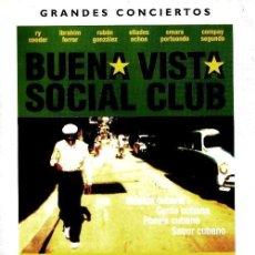 Vídeos y DVD Musicales: BUENA VISTA SOCIAL CLUB. DOCUMENTAL. DVD MUSICAL. Lote 194206231
