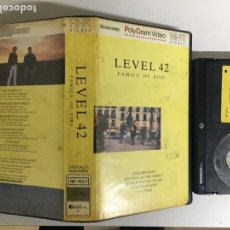 "Vidéos y DVD Musicaux: BETA - LEVEL 42 ""FAMILY OF FIVE"" - POLYGRAM VIDEO. Lote 207468480"