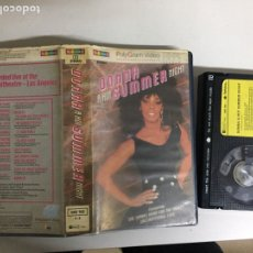 Vídeos y DVD Musicales: BETA - DONNA A HOT SUMMER NIGHT - POLYGRAM VIDEO. Lote 194239362