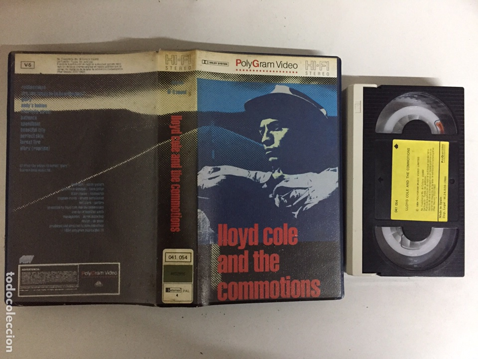 BETA - LLOYD COLE AND THE COMMOTIONS - POLYGRAM VIDEO (Música - Videos y DVD Musicales)
