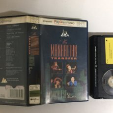 Vídeos y DVD Musicales: BETA - THE MANHATTAN TRANSFER: VOCALESE LIVE - POLYGRAM VIDEO. Lote 194241650