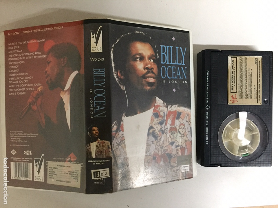 BETA - BILLY OCEAN: IN LONDON - VIRGIN VISION (Música - Videos y DVD Musicales)