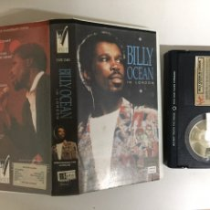 Vídeos y DVD Musicales: BETA - BILLY OCEAN: IN LONDON - VIRGIN VISION. Lote 194241993