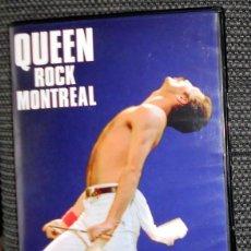 Vídeos y DVD Musicales: DVD MUSICAL - QUEEN - CONCIERTO - ROCK EN MONTREAL - FREDDIE MERCURY. Lote 194294443